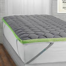 Feather Bed Topper Bedding Novaform Gel Memory Foam 3 Inch Mattress Topper Bed