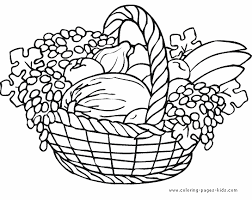 thanksgiving color page free printable coloring sheets for