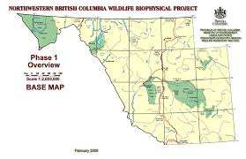 Map Of Bc Ecology Ecosystems Branch Environment Province Of British