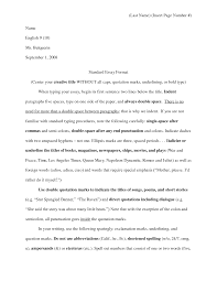 Sample Essay Outline Format Writing An Essay Examples