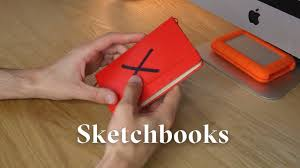 tips for how to buy the best sketchbooks for graphic design
