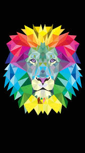 lion print beautiful abstract art pinterest