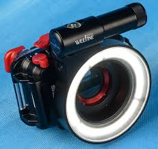 ring light for video camera review kraken weefine underwater photo ring light
