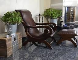 siege capitonné fauteuil siege capitonne bois cuir marron relax ancien vintage