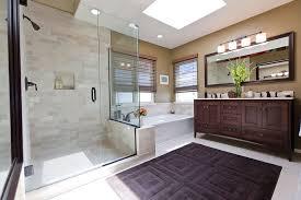 Bronze Bathroom Mirror Bathroom Contemporary With Under Cabinet - Bathroom cabinet lights 2