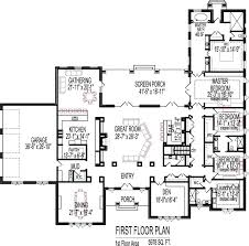 5 bedroom house plans with basement house plans single story with basement ranch style house a