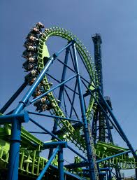 Six Flags X2 Rides At Six Flagsworld Of Flags World Of Flags