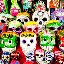 Shop Mexican Day The Dead Decorations on Wanelo