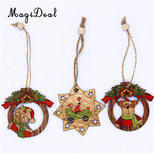 compare prices on christmas wooden tree decoration online