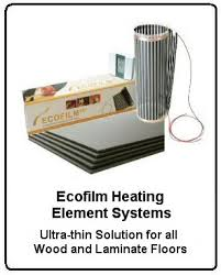 electric underfloor heating for wood and laminate floors