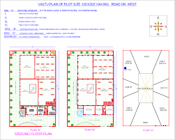 West Facing House Vastu Floor Plans South Facing House Plans According To Vastu Shastra In Hindi