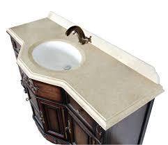 Antique Looking Bathroom Vanity by Montage Antique Style Bathroom Vanity Single Sink 60