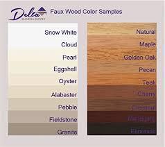 Designview Faux Wood Blinds Amazon Com Custom Made Faux Wood Horizontal Window Blinds 2