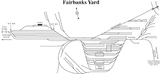 Alaska Railroad Map by Route Map Fairbanks
