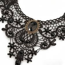 vintage lace necklace images Fashion necklaces for women beauty girl handmade black chokers jpg