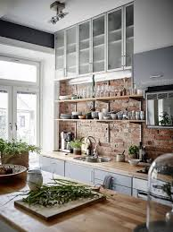 Brick Kitchen Backsplash by Red Brick Kitchen Backsplash Ideas Viskas Apie Interjerą