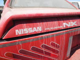 nissan pulsar sportback junkyard find 1989 nissan pulsar nx the truth about cars