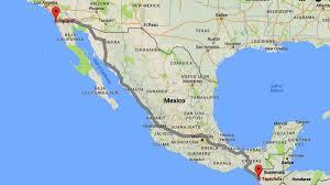 Tijuana Mexico Map Anuncian Que Un Centenar De Venezolanos Llegará A Tijuana Para