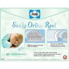 Sealy Ortho Rest 150 Coil Crib Mattress Sealy Baby Ortho Rest Crib And Toddler Mattress