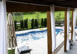 Cabana Curtains Curtains Exquisite Outdoor Deck Privacy Curtains Notable Outside