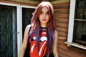 rolling hair styles colored cool cute hair dye ombre pink pretty rolling medium hair