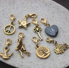 gold lucky charm bracelet images Golden charms by bish bosh becca jpg