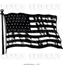 Black And White American Flag African American Flag Clip Art 32