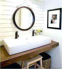 trough sink with 2 faucets trough bathroom faucet trough bathroom faucet try a trough style