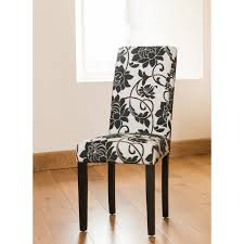 White Fabric Dining Chairs Floral Dining Room Chairs White Fabric Chair Covers And In Designs
