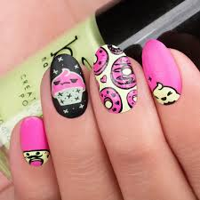 kawaii emoji is the name of our 5 plate nail stamping set with