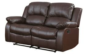 Reclining Loveseat Wall Hugger Furniture Contemporary Design And Outstanding Comfort With Double