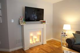 How To Make Fake Fireplace by Make Fake Fireplace Modern Rooms Colorful Design Contemporary In