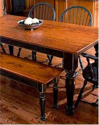 Best  Distressed Dining Tables Ideas On Pinterest Refinish - Black dining table with cherry top