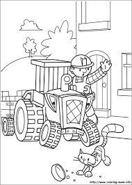 bob builder coloring picture kleurplaten bobs