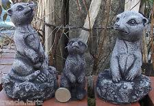 meerkats ornaments sculptures statue garden ornaments ebay