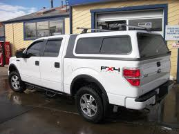 ford f150 truck caps f 150 overland white rack truck cap ft collins colorado