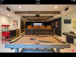 pool table shuffleboard and home theater complete with nostalgia