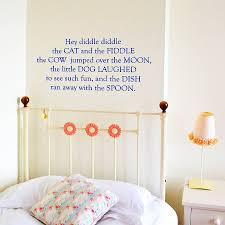 baby nursery wall stickers nursery rhyme wall stickers office study