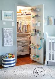 nursery closet organization easy diy baby closet organization