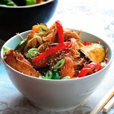 chicken and vegetable stir fry with hoisin sauce recipe agfg