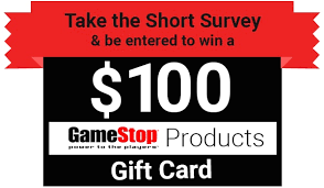 how to win gift cards tell gamestop feedback in survey to win 100 gift card