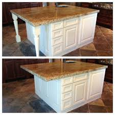 kitchen island brackets kitchen island decorative legs or not