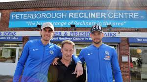 Peterborough Recliner Centre with Peterborough Recliner Centre Welcomes Posh Goalies News