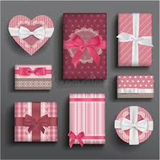 boxes with bows girly boxes and bows stock illustration illustration of ribbon