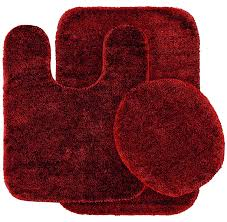 amazon com garland rug 3 piece traditional nylon washable