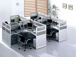 Compact Office Desks Modern Compact Glass Office Cubicle Workstations 99home 1012 For