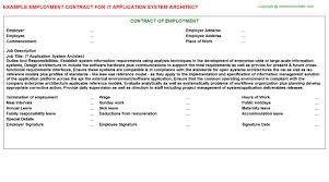Architect Signature It Application System Architect Job Title Docs