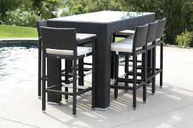 bar style table and chairs decorating high chair outdoor furniture outdoor pub style table and