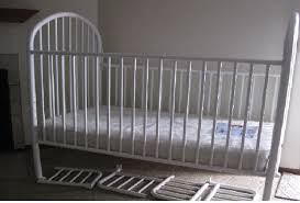 Metal Toddler Bed Graco 3 In 1 Crib Toddler Bed With Mattress Like New For Sale