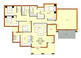 4 bedroom house plan simple 4 bedroom house plans south africa functionalities net